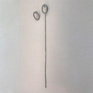 (Orecchini Pendenti lavorazione polvere di diamanti) ottone e rame placcato argento rodiato (168).